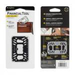 Wielofunkcyjny multi-tool Financial Tool karta czarny