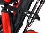 Rower czerwony trójkołowy