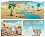 Komiks Był sobie człowiek część 2 Żyzne Doliny i Egipt