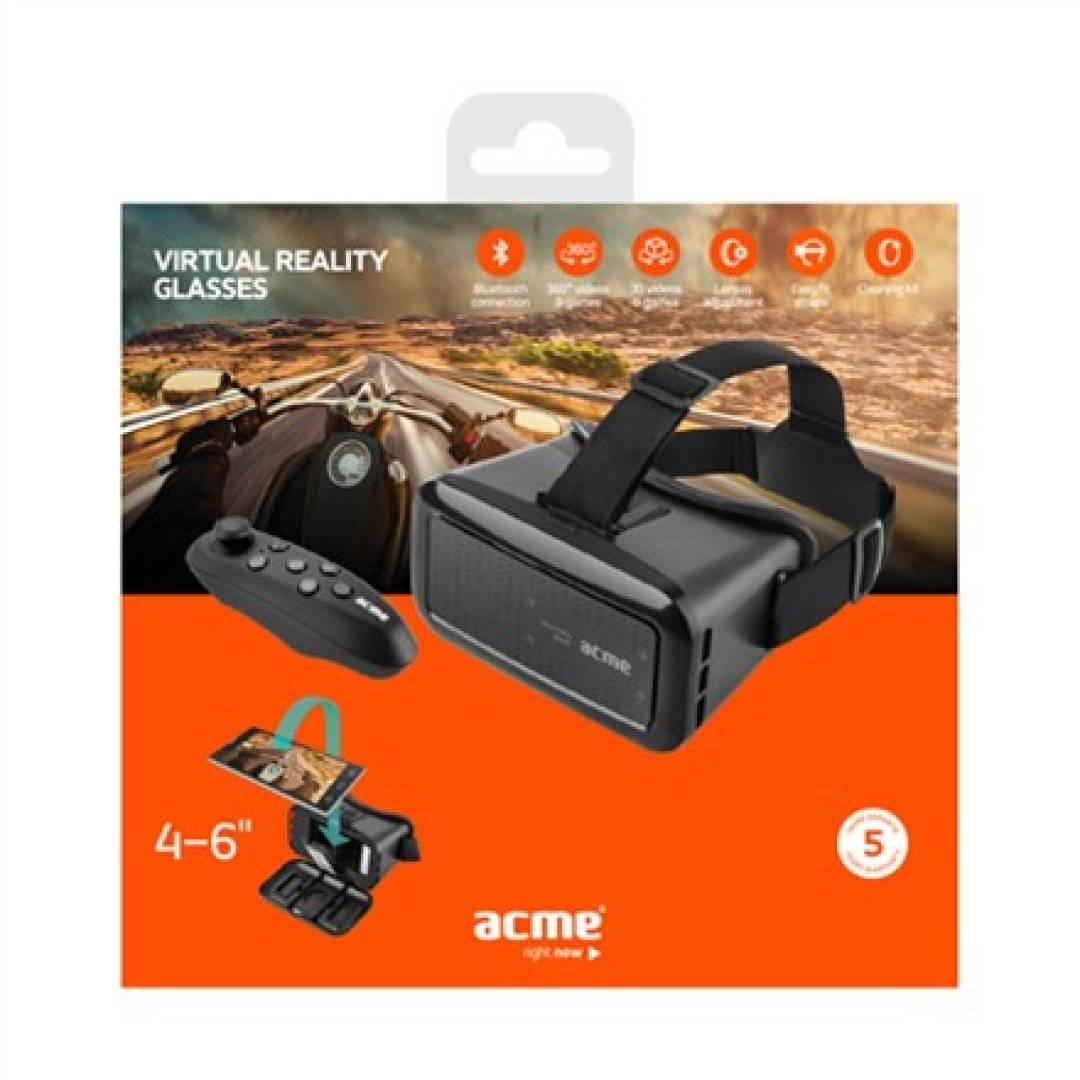 ACME Europe Okulary VR z bezprzewodowym padem VRB01RC