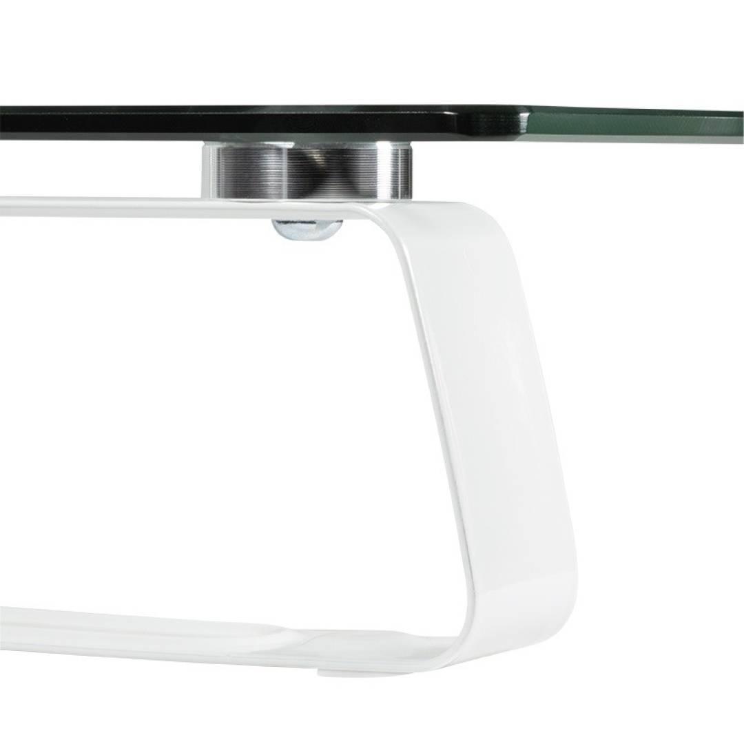 Podstawa pod monitor, szklana, 560x210, do 20kg