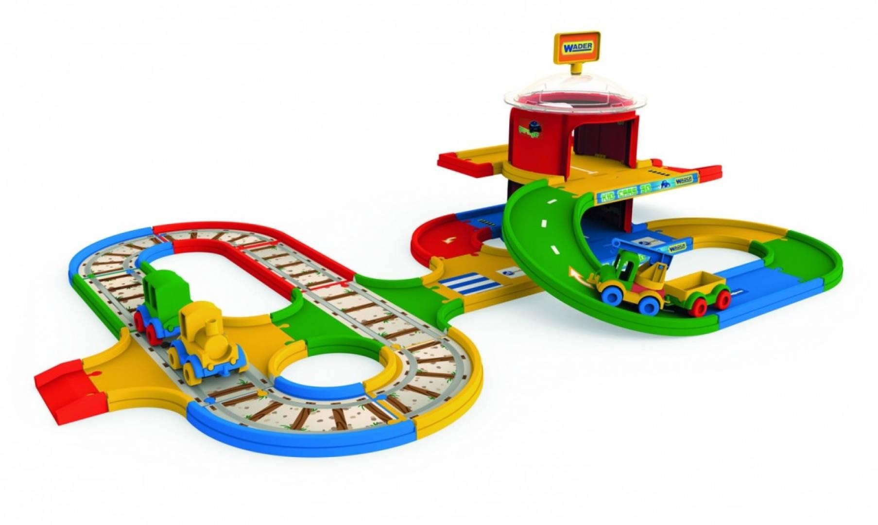 Stacja przesiadkowa kolejki Kid Cars 5 m