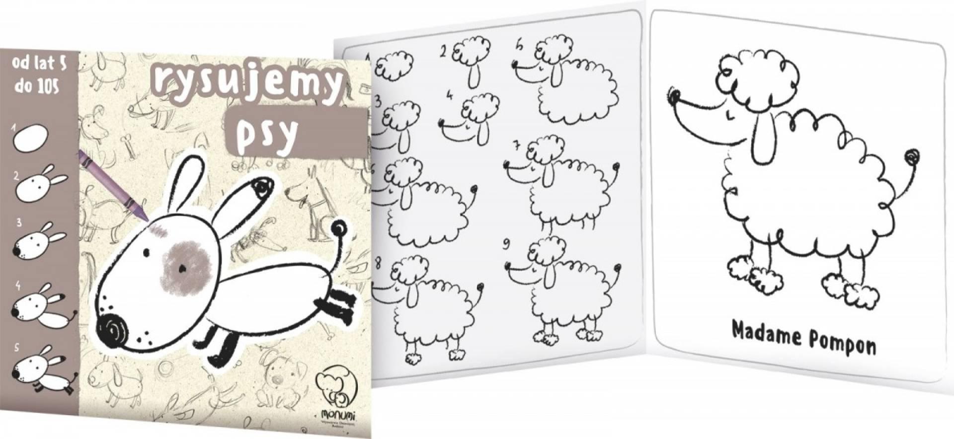 Księżeczka do nauki rysowania display, 12 sztuk
