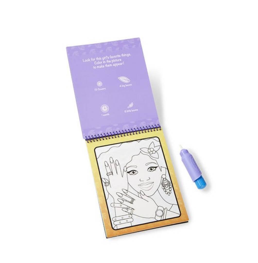 Kolorowanka Water Wow! Makijaż i manicure