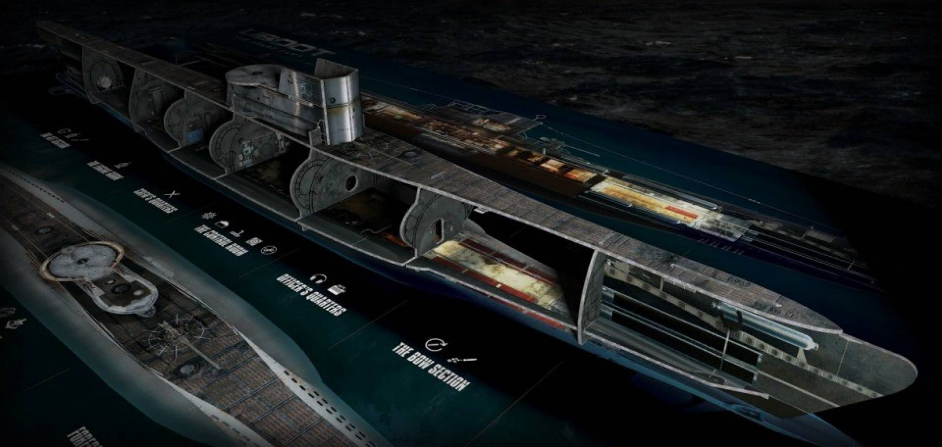Gra U-Boot Gra Planszowa