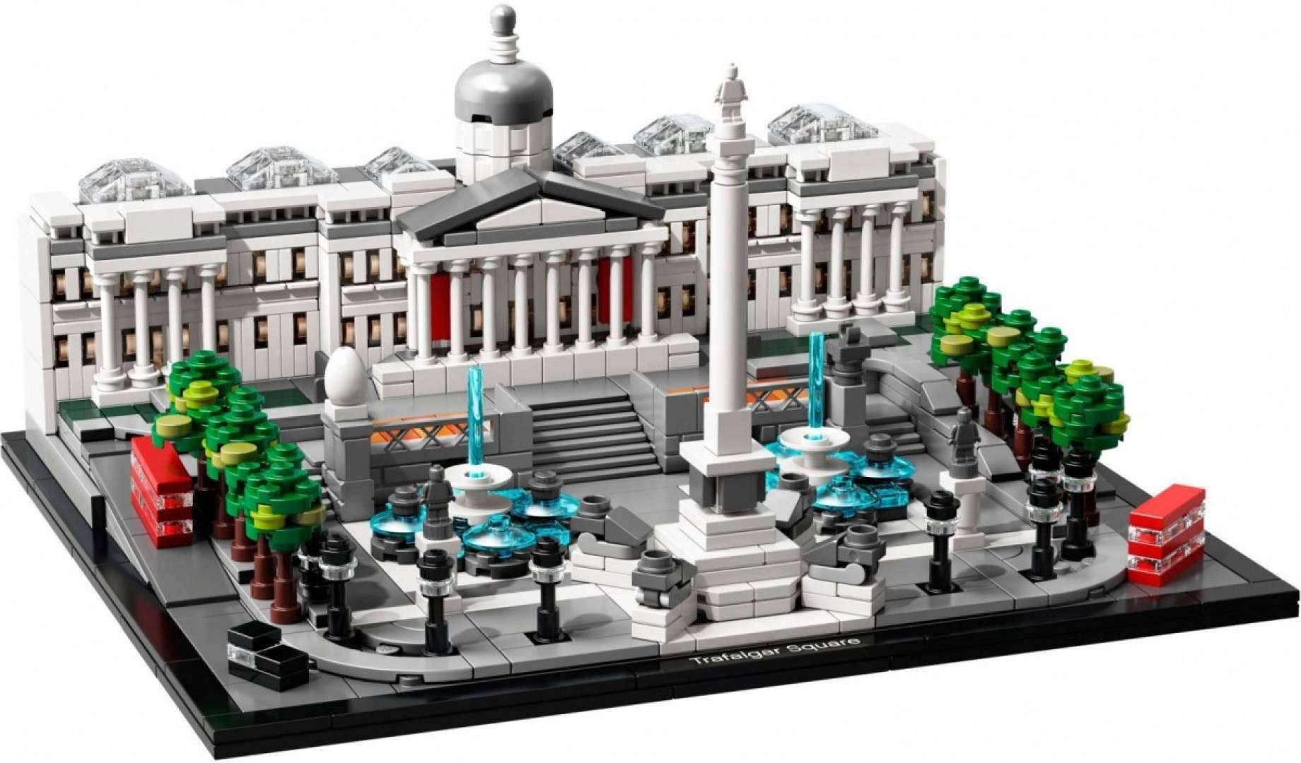 Klocki Architecture Trafalgar Square