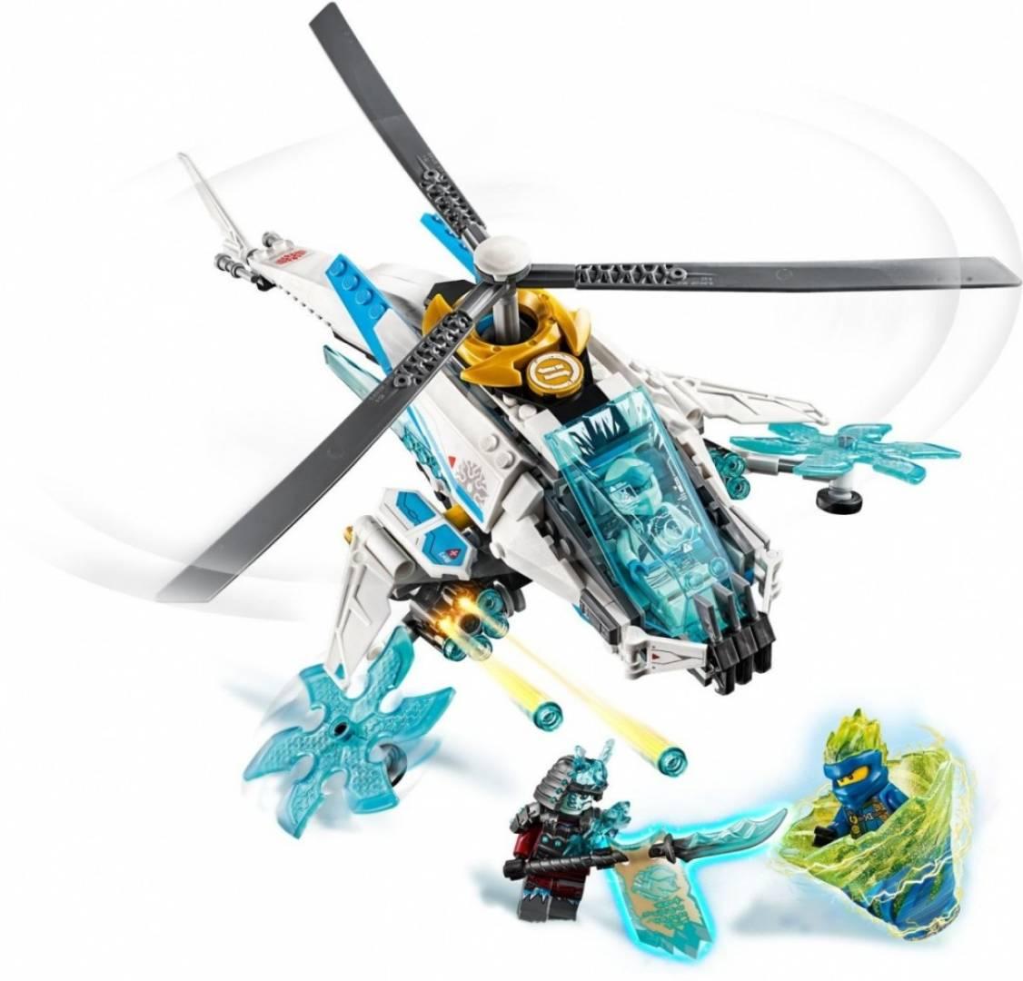Klocki Ninjago Szurikopter