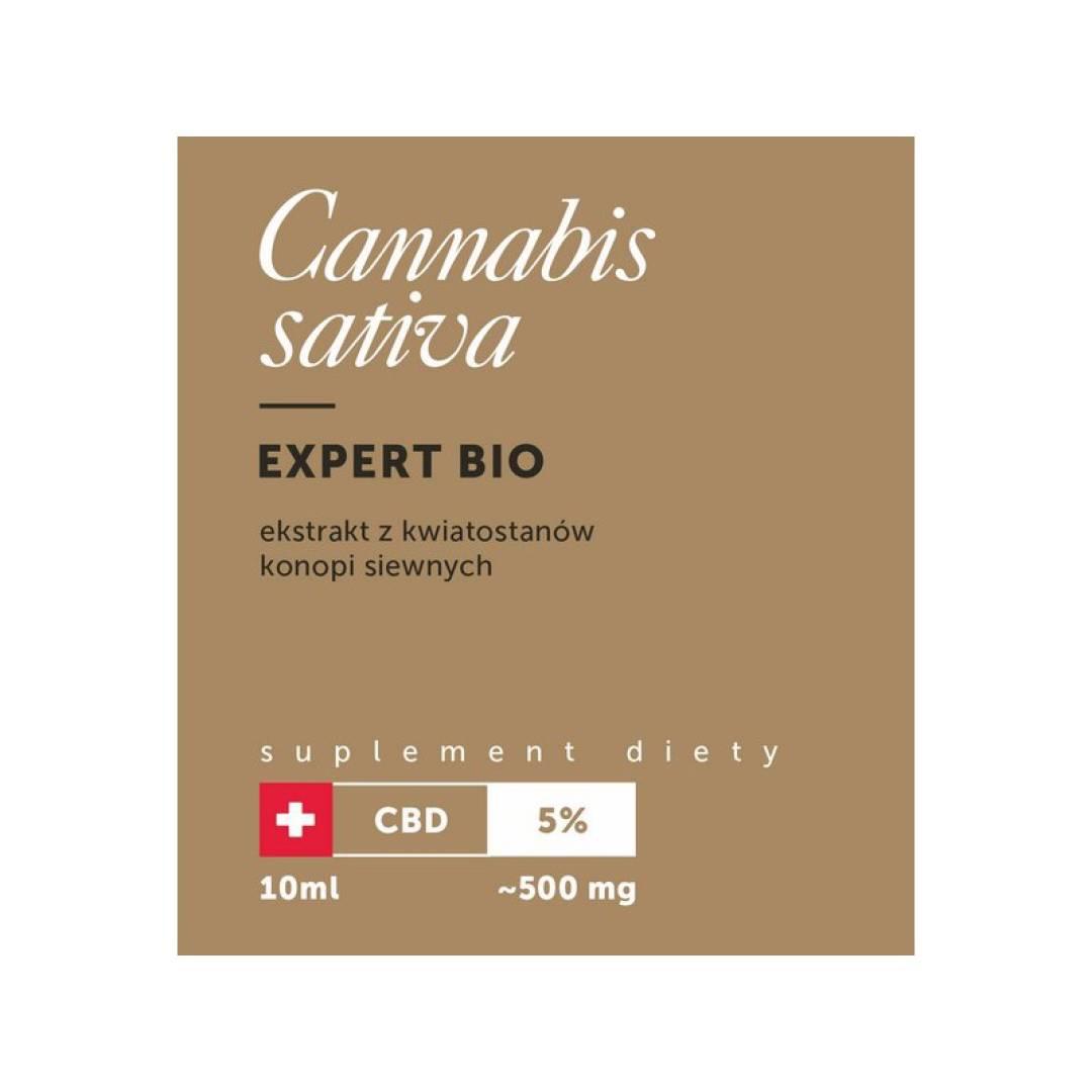 Olejek CBD BIO 5% 10ml Cannabis Sativa