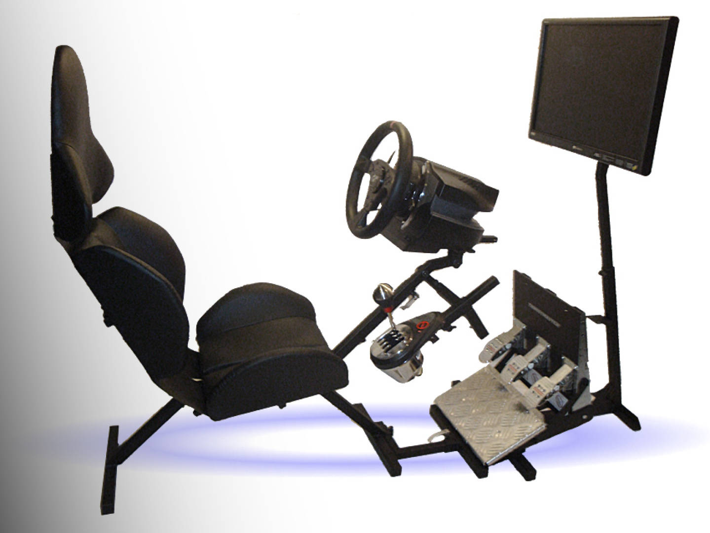 FOTEL DO GIER z adaptacją > stand pod kierownice