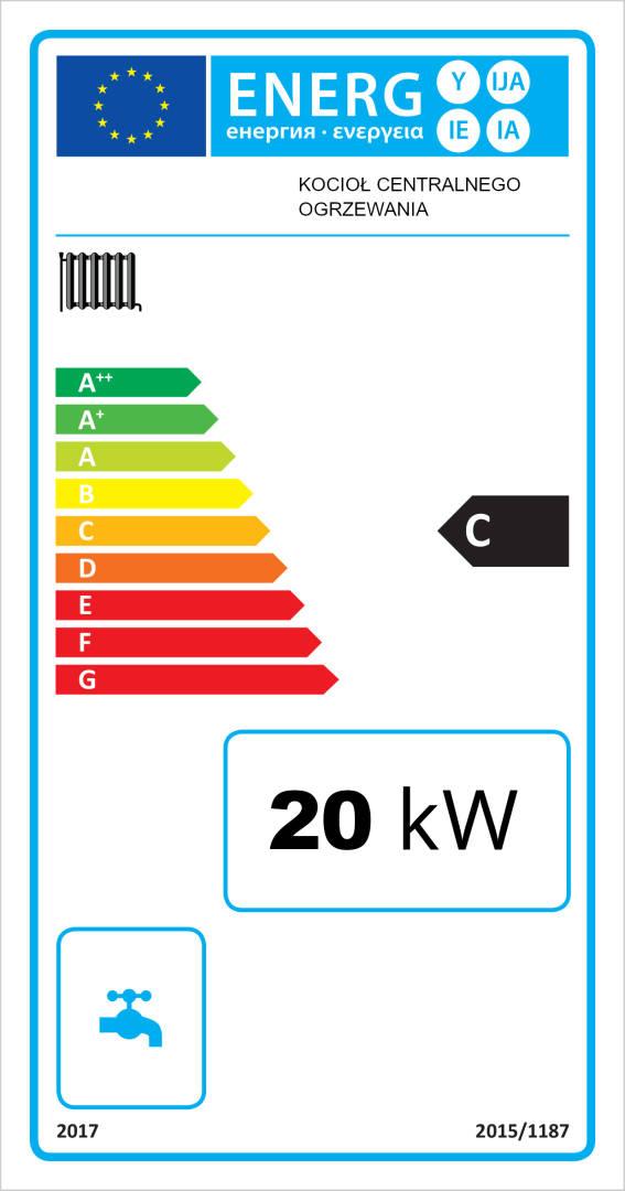 KOTŁY 20 kW do 180 m2 UniwersumEKO KOCIOŁ Piece PIEC Węglowy 17 18 19