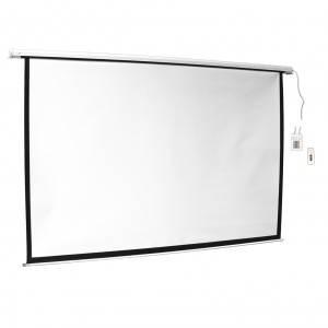 ART Ekran elektryczny 16:9 100 221x125 biały z pilotem
