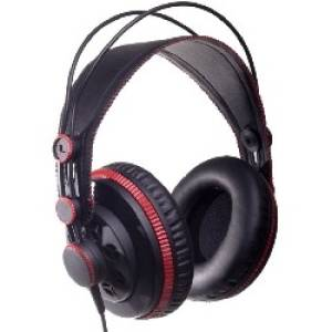 Superlux HD681 black-red Słuchawki nauszne HIFI