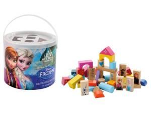 Frozen Klocki drewniane 50 elementów