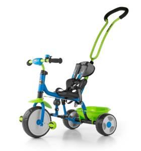 Rowerek Boby, niebiesko-zielony