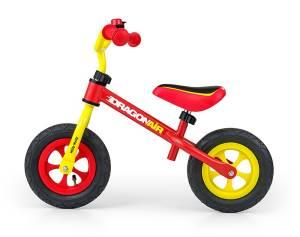 Rowerek biegowy Dragon Air żółto-czerwony