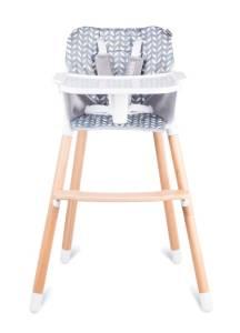 Krzesełko do karmienia Koen Szary/Żółty