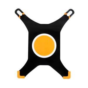 Uchwyt do iPad/iPad2, obrotowy, czarno-pomarańczowy