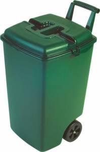 Kosz na śmieci na kółkach (90l) 154907