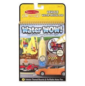 Kolorowanka Water Wow! - Pojazdy