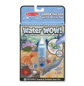 Kolorowanka Water Wow! - Pod morską wodą
