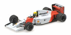 Model metalowy McLaren Honda MP 4-7 #1 Ayrton Senna 1992