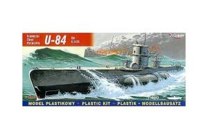 Model plastikowy U-Boot U-84 VIIB