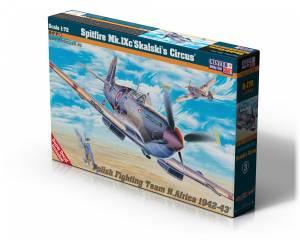 Model plastikowy Spitfire Mk IX Skalski Circus