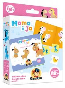 Książeczka edukacyjna + Puzzle - Mama i ja