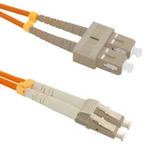 Patchcord światłowodowy SC/UPC-LC/UPC | MM | 50/125 | OM2 | 5m