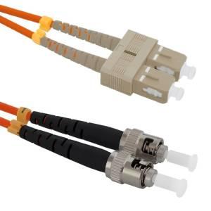 Patchcord światłowodowy SC/UPC-ST/UPC | MM | 50/125 | OM2 | 5m