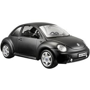 Model kompozytowy Volkswagen Beetle czarny mat 1/25