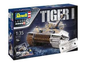 Zestaw upominkowy Model plastikowy 75 Years Tiger I