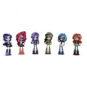 Figurki My Little Pony Equestria Girls Mini Zestaw Kolekcjonerski