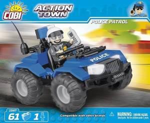 Klocki Action Town Policyjny Quad Patrolowy