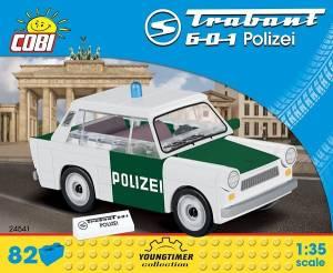 Klocki Cars Trabant 601 Polizei