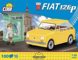 Klocki Cars Fiat 126p + figurka