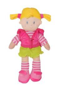 Lalka Sweet Girl 38 cm różowa kamizelka