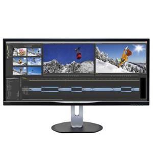 34'' BDM3470UP LED AH-IPS 21:9 DVI HDMI MHL DP Głośniki