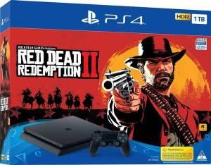 Konsola Playstation 4 1TB Slim + Gra PS4 RED DEAD REDEMPTION 2