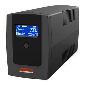 Zasilacz awaryjny UPS MEL-855ssu 850VA/510W AVR LCD 2xSCH USB RJ11