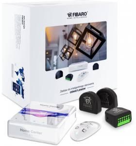 Zestaw inteligentnego sterowania oświetlenie Home Center lite, Duble Switch x3, KeyFob