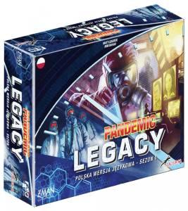 Gra Pandemic Legacy: Sezon 1, edycja niebieska
