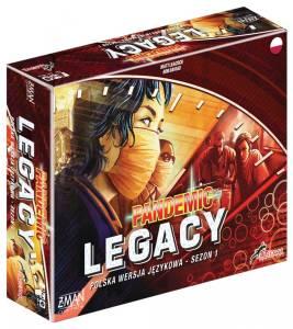 Gra Pandemic Legacy: Sezon 1, edycja czerwona