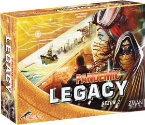Gra Pandemic Legacy: Sezon 2, edycja żółta