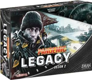 Gra Pandemic Legacy: Sezon 2, edycja czarna