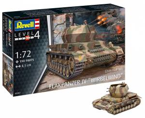 Model plastikowy Flakpanzer IV Wirbelwind 2cm