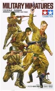 Model plasikowy Rosyjska piechota szturmowa 1941-1942