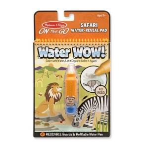 Kolorowanka Water Wow! - Woda na safari