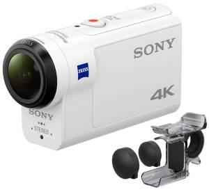 Kamera FDR-X3000R + Live-View Remote Kit + Fing