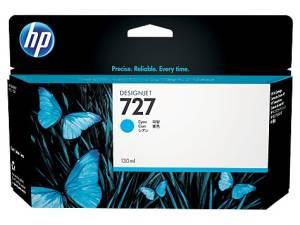 Tusz HP 727 130 ml Cyan B3P19A
